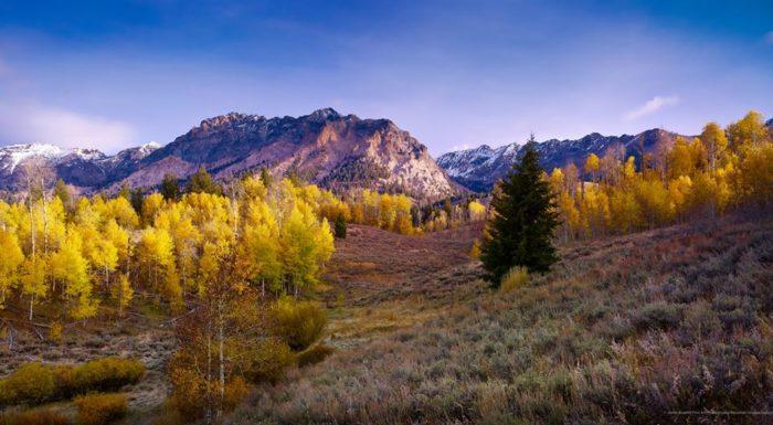7. Boulder Mountains