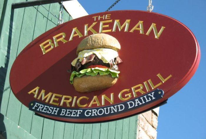 2. The Crazy Brakeman: Brakeman American Grill, Victor