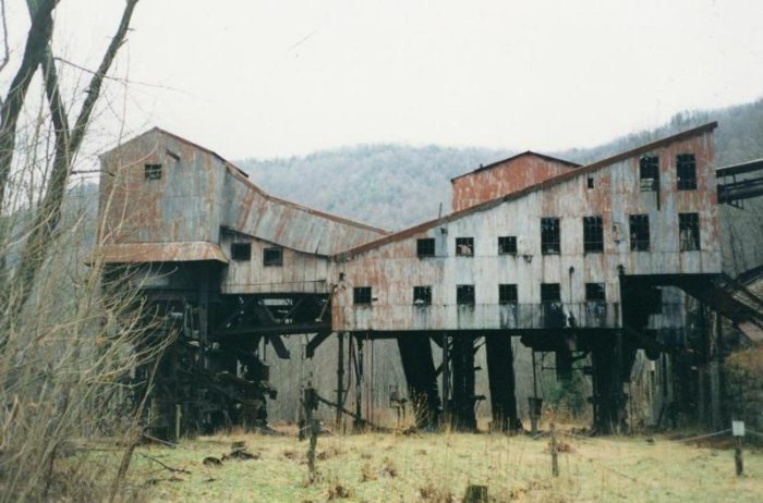 This building was the old coal tipple.