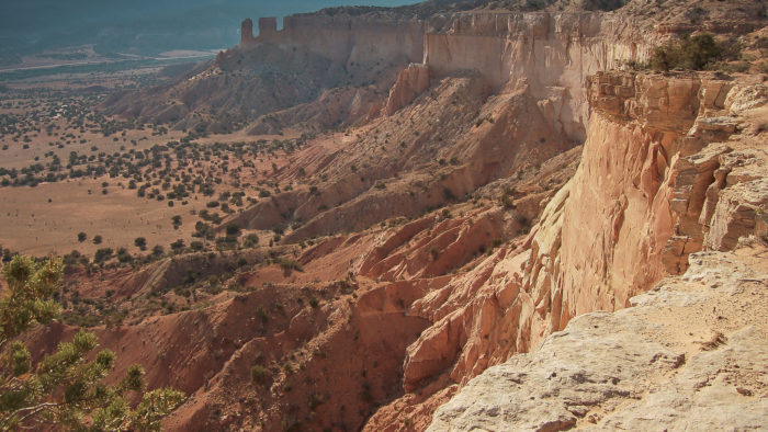 Ghost Ranch is situated about 15 miles northwest of Abiquiu. The rock formations and color of the earth in this area are astounding. See for yourself…