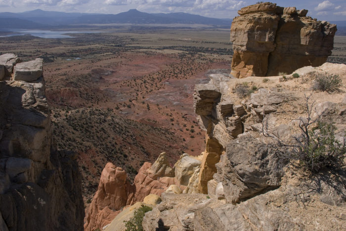 And, at the top, the vistas of the Piedra Lumbre basin are unparalleled.
