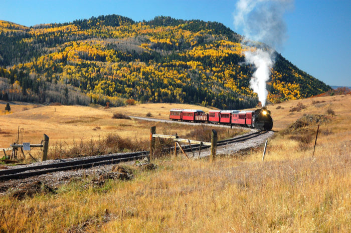 1. The Cumbres & Toltec Scenic Railroad is the most beautiful train ride in the country.
