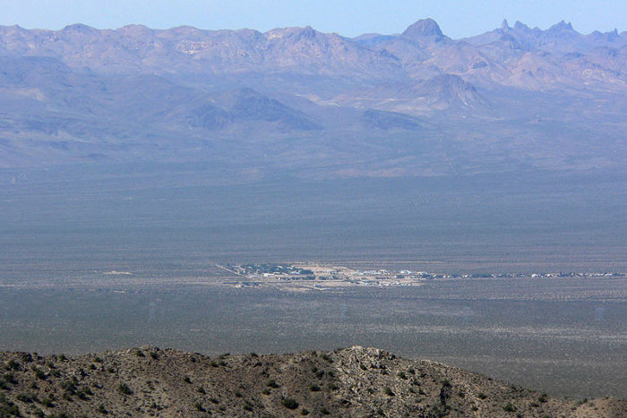 3. Cal Nev Ari is a remote Nevada town worth visiting if you're in the market for remote Nevada towns. The entire town is for sale for a cool $8 million. Your purchase would include a casino, restaurant and airport.