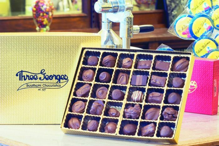 If you're not planning to visit Mobile anytime soon, no worries. Three Georges Candy Shop ships their treats everywhere. No matter where you live, you can enjoy their amazing sweets.