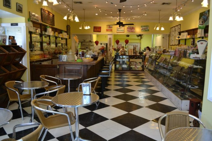 This historic candy shop is filled with a variety of treats. From candies to cakes, and caramel apples to ice cream, this sweet destination has a little bit of everything. If you're craving a delicious treat, this is definitely where you want to be.