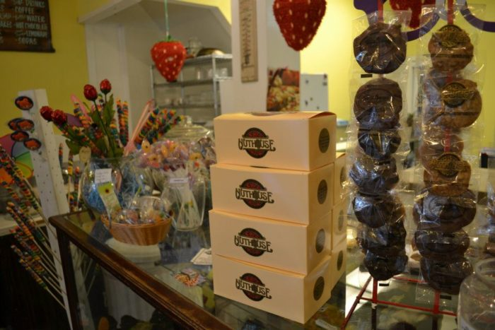 And don't leave empty handed. Three Georges Candy Shop has a huge selection of homemade candies and treats boxed up and ready for you to take home.