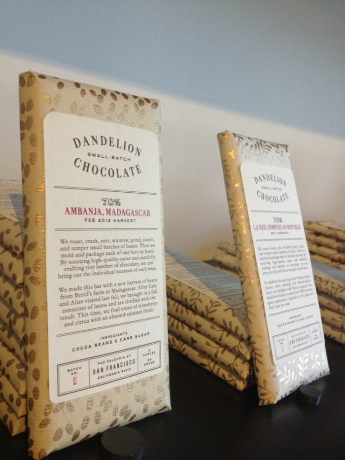 Alongside some of the finest confections in the world, The Candy Store stocks local treats like San Francisco's own Dandelion Chocolate.