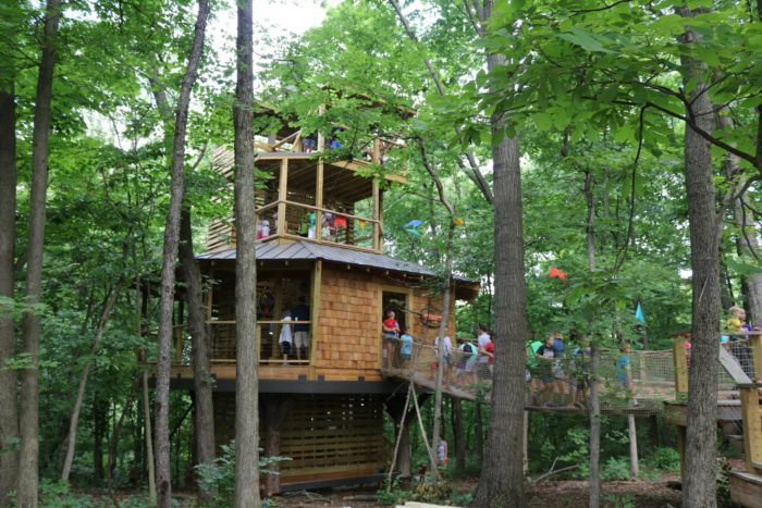 Conner Prairie Treetop Outpost