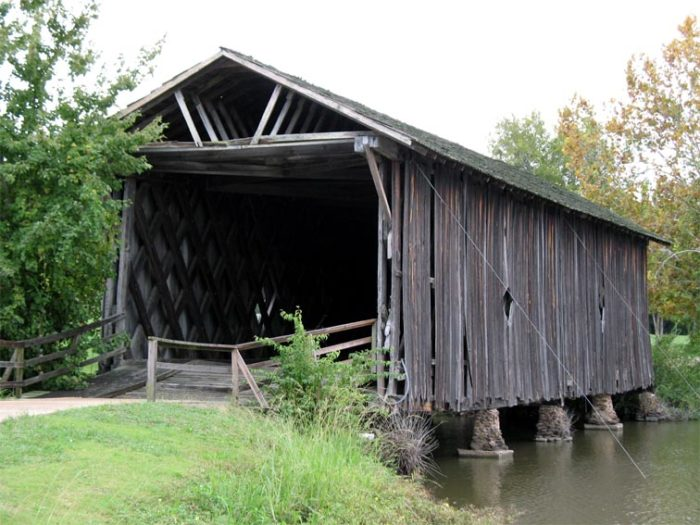 9. Alamuchee-Bellamy Covered Bridge - Livingston