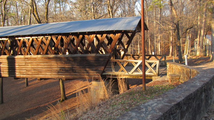 3. Clarkson–Legg Covered Bridge - Cullman