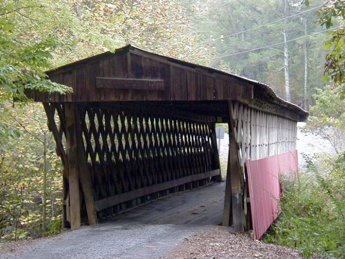 4. Old Easley Covered Bridge - Oneonta