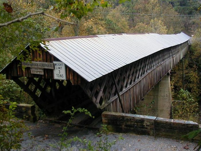 7. Horton Mill Covered Bridge - Oneonta