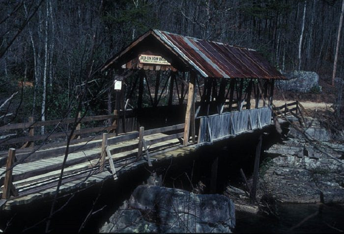 1. Old Union Covered Bridge - Mentone