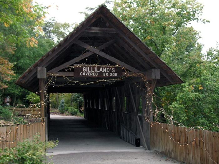 2. Gilliland-Reese Covered Bridge - Gadsden