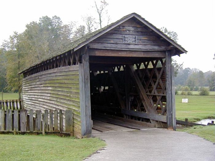 5. Coldwater Covered Bridge - Oxford