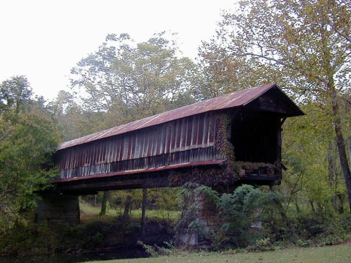 6. Waldo Covered Bridge - Waldo