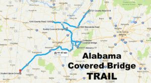 There's A Covered Bridge Trail In Alabama And You'll Want To Take It
