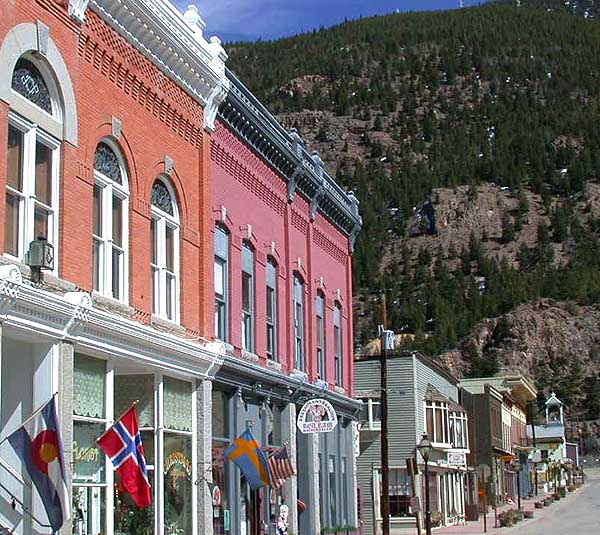 The next time you visit the charming and colorful mountain town, be sure to keep your eyes peeled for a thin and ghostly man, who has been reported around town as being there one second and gone the next.