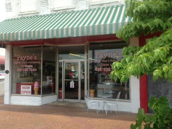 5. Payne's Sandwich Shop & Soda Fountain - Scottsboro