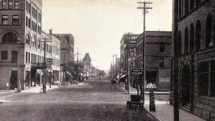 3. Downtown area of Grand Forks, North Dakota, 1909.