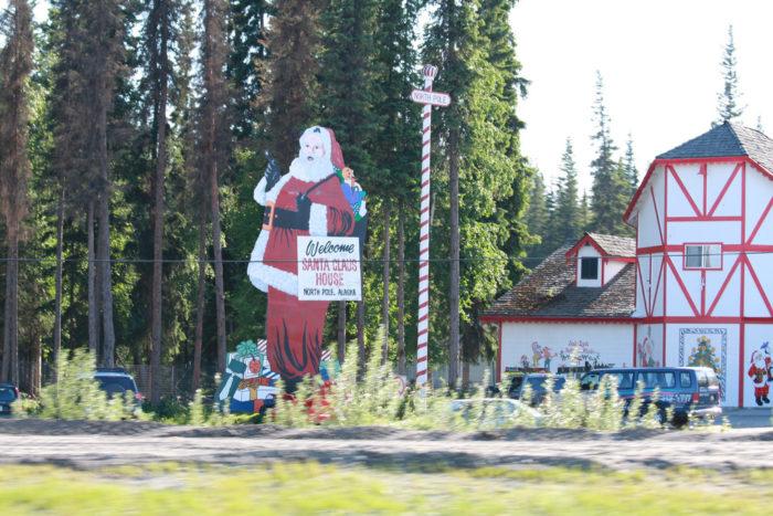 19. Visit the Santa's workshop in the North Pole.