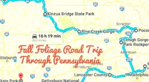 Take This Gorgeous Fall Foliage Road Trip To See Pennsylvania Like Never Before