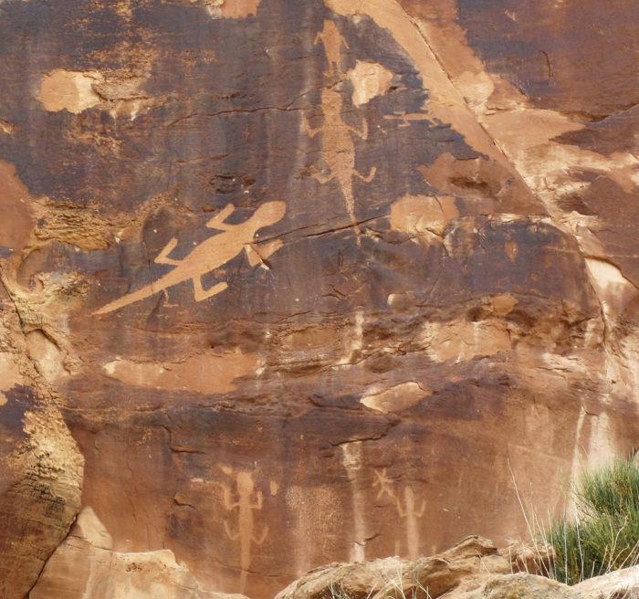 ...explore the ancient Uinta Fremont Indian petroglyphs...