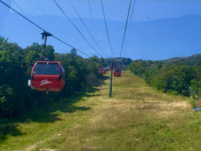 Getting to the Cliff House is half the fun!  Enjoy the gondola ride to the highest point in Vermont.