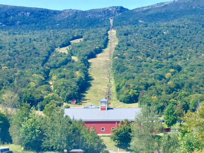 Whether you go for a fabulous meal or simply take the ride up and enjoy the view, don't let this fall pass by without experiencing this bucket list place.