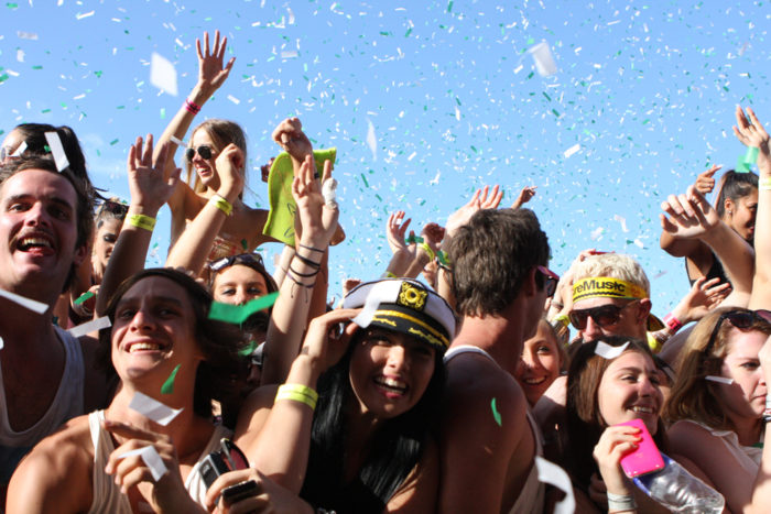 5. Your idea of teenage rebellion involved escaping from your parents at ACL Fest.