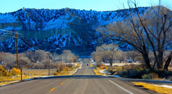The rugged landscapes and canyons are so beautiful, you will have trouble keeping your eyes on the road.