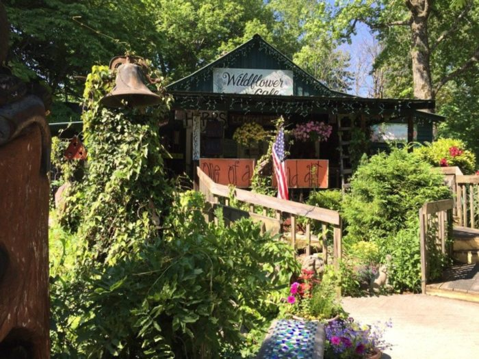 10. Wildflower Cafe - Mentone, AL
