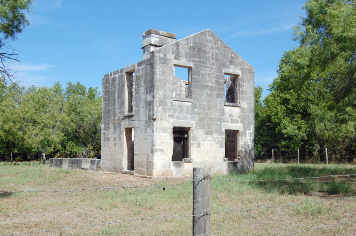 Along the way, you'll pass the old McKinney Homestead.