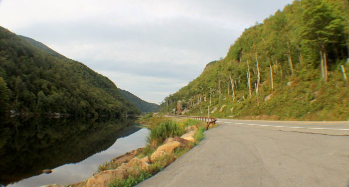 8. Take a beautiful drive through New York's High Peaks on Route 73!