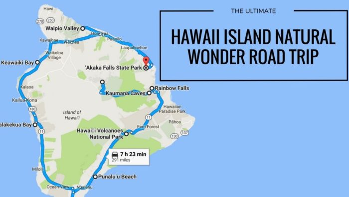 This Natural Wonders Road Trip Will Show You Hawaii Island Like You ...