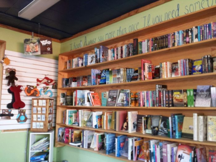 6. Spend an afternoon at the Tumbleweed Bookstore and Cafe.