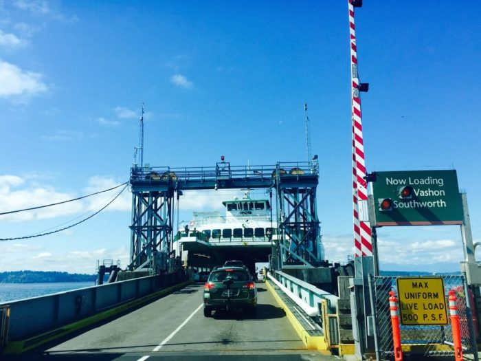 You can access ferries to Vashon Island from Port Orchard, Seattle or Tacoma.