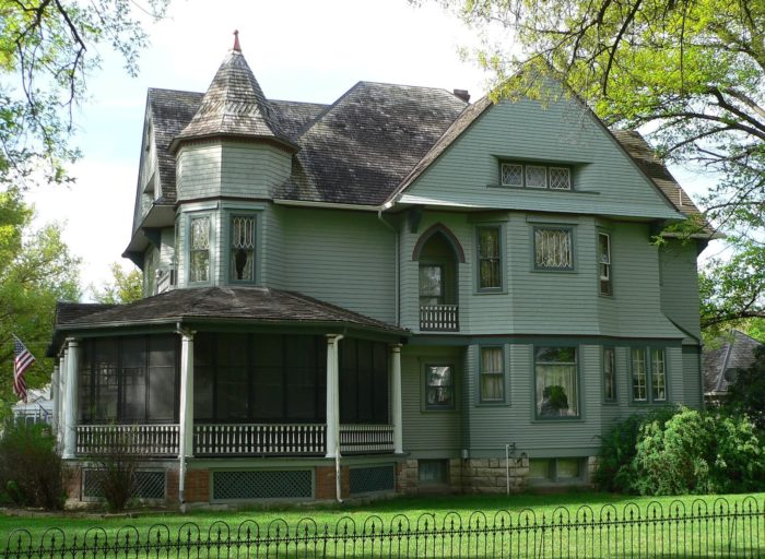 The beautifully preserved Kirchman house is on the National Register of Historic Places as an outstanding example of Queen Anne architecture. You can't tour it, but you can admire it every time you pass by.