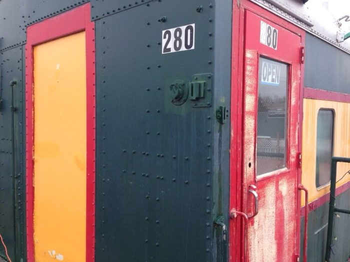 Walk through the doors of this vintage caboose and you'll find a cozy Mexican eatery called La Parrilla Mexican Restaurant -- a family-owned joint that is still relatively new.