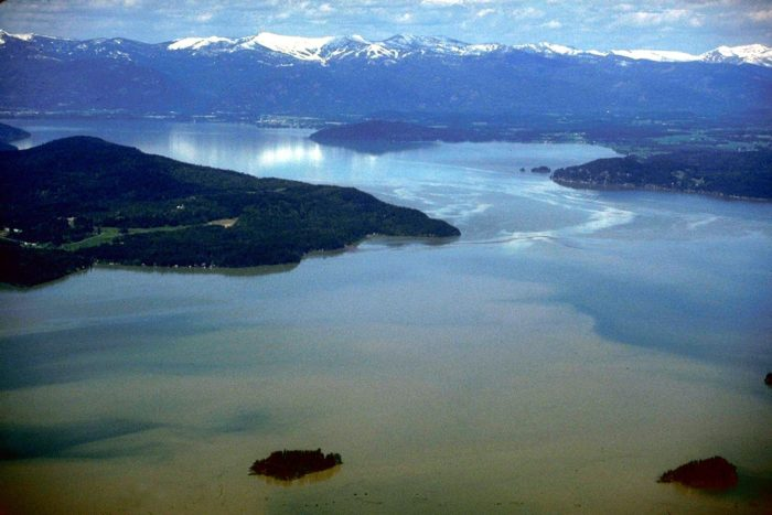 Lake Pend Oreille is Idaho's largest, deepest, and quietest body of water, making it perfect for top-secret underwater missions.