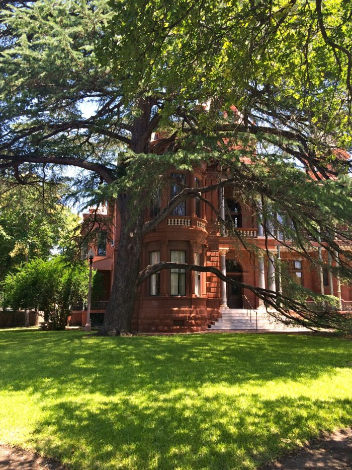 The home is located at 24th and Whitis, right in the heart of the UT campus.