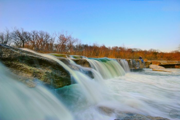 Of course a trip to McKinney Falls wouldn't be complete without seeing the lower falls.