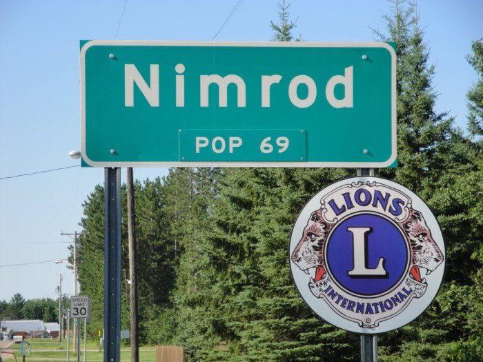 12. Nimrod, Wadena County
