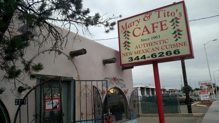 1. Mary and Tito's Café, 2711 4th Street NW, Albuquerque