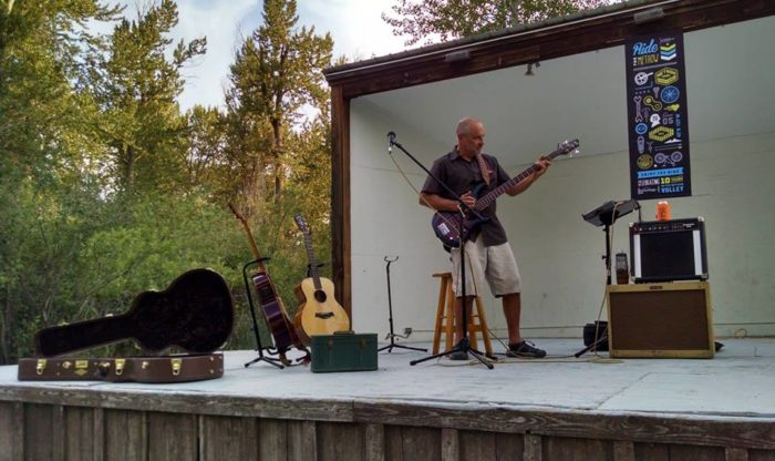 9. Catch some live music at the Methow Valley Ciderhouse.