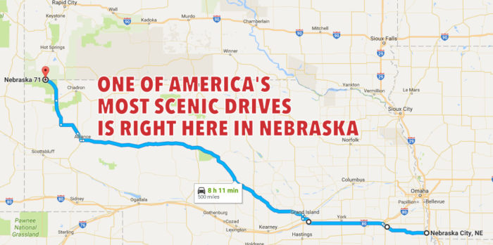 Mapped out and ready for you to explore, there's so much to see along Nebraska's Highway 2.