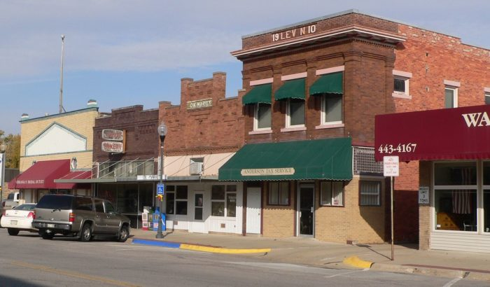 The main street is one of those quintessential Nebraska sights, where old storefronts have been updated multiple times with new signage and new decorations. But under it all, you can see a town that is proud to hold onto its history.