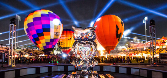 8. Owl-O-Ween Hot Air Balloon Festival—Kennesaw State University