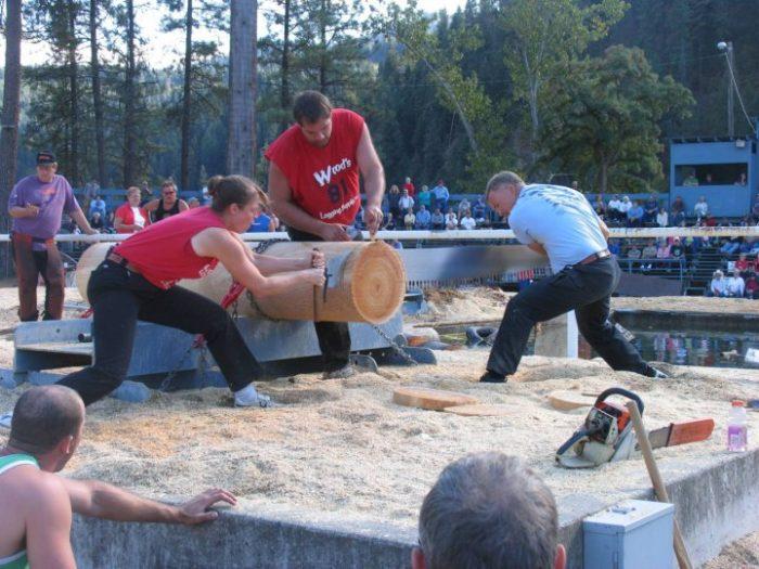 8. Orofino Lumberjack Days, Orofino (Sept. 15-18)
