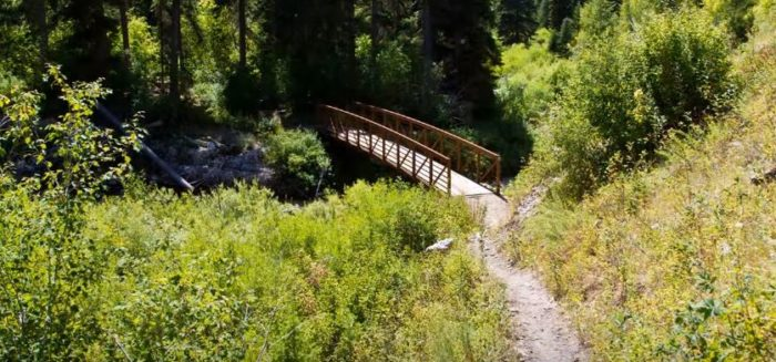 Palisades Creek Trail - Idaho